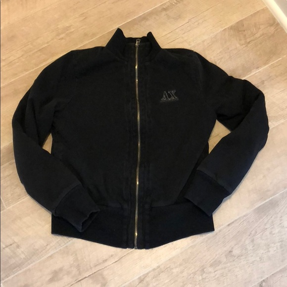 Armani Exchange Zip Up Sweater, Women\u2019s
